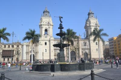 マチュピチュとテオティワカン8日間の旅(その5)ペルーのリマ市内観光
