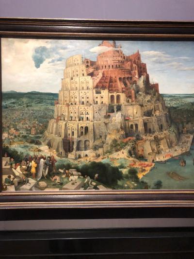 ウイーン観光最終日はシューンブルン宮殿と美術史美術館