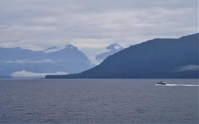 アラスカクルーズ(2)----アラスカのジュノー