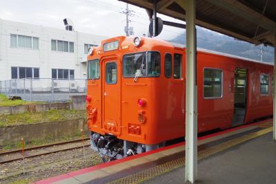 姫新・因美・山陰本線等 18切符時計回り旅