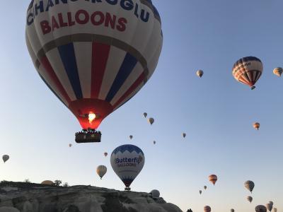 トルコ旅行②★カッパドキア★気球と奇岩探検編