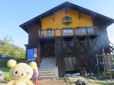秋の苗場山に和田小屋から登って来るクマ!その1