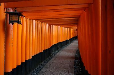 定番スポットを巡る京都・紅葉の旅 ①   (伏見稲荷神社)