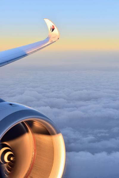 ナマステ・インド、サワッディー・タイ part 14 - マレーシア航空ビジネスクラス クアラルンプール→成田
