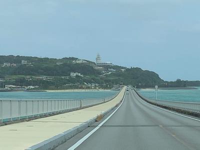 【沖縄本島北部】古宇利島の良さは晴れた日でなければ分からない