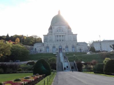 カナダ メープル街道 女一人旅7(モントリオール 聖ジョセフ礼拝堂、モンロワイヤル公園、bixi)