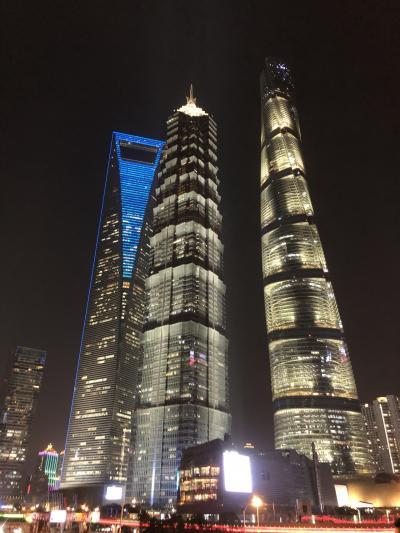 ヨーロッパ旅行 トランジットで上海立ち寄り