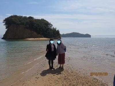 一泊二日の香川旅② エンジェルロードと小豆島ラーメン