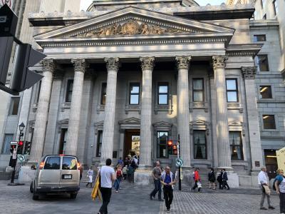 紅葉を見に?! モントリオール市内観光 銀行博物館と国際会議場