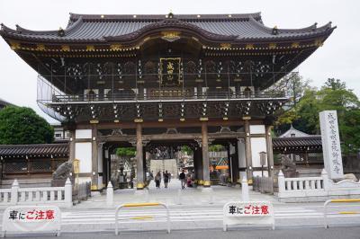 JALパックで行く ハノイ&ホーチミン 出発前に成田山新勝寺へ