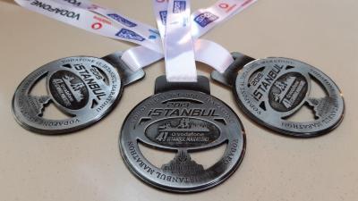 イスタンブールマラソン~ボスフォラス海峡秋景色を走る~15km 18,010歩