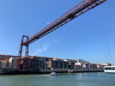 スペイン(1)ビスカヤ橋で叱られる/ビルバオ