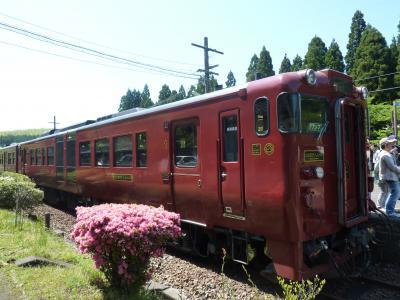 母娘旅 2011年GW in 鹿児島 鉄道の旅(いさぶろう、はやとの風、指宿のたまて箱)