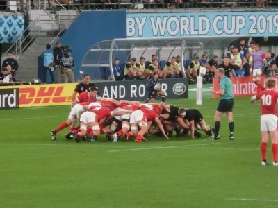 2019秋 ラグビーワールドカップ13:東京 三位決定戦 ニュージーランド-ウェールズ観戦記