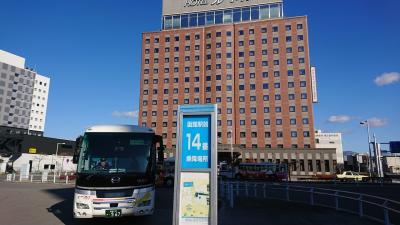 北海道弾丸ツアー、令和元(2019)年11月1日~4日、まずは函館でリラックスして札幌へ!