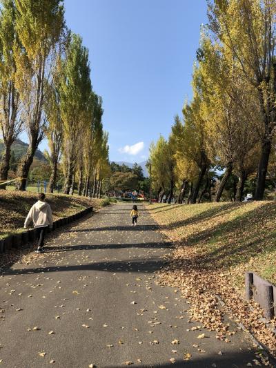 週末は山梨にいます(^^)初めての富士川クラフトパーク!
