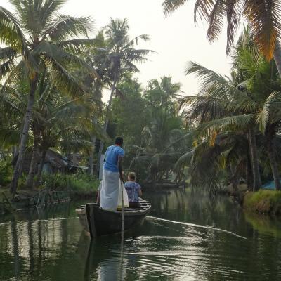 2019冬休み南インド:『癒し』ここにあります。(1)フォートコーチン~ムンロー島