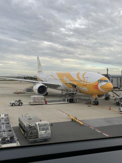 ノックスクート 大阪(関西)-バンコク(ドンムアン)線 XW111便 搭乗レポート