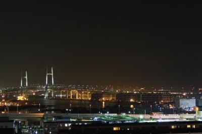 夜の港の見える丘公園(横浜市)へ・・・