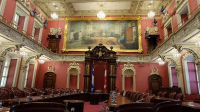 Aug 2019 part 5. ケベックシティーの州議事堂見学してからモントリオールへ