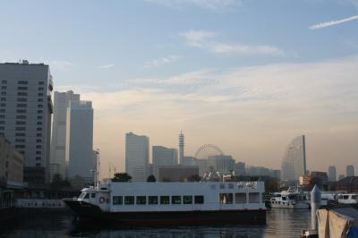 横浜ハンマーヘッド10/31オープンの日に訪問♪