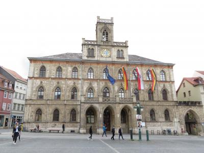 心の安らぎ旅行(2019年 5月 Weimar ヴァイマールPart2 Rathaus 市庁舎♪)