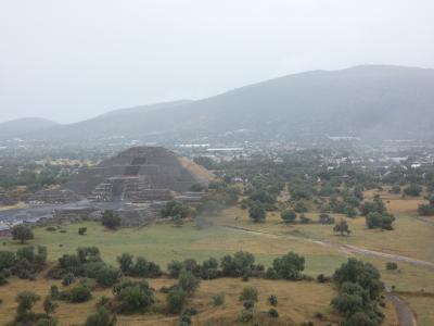 メキシコ テオティワカン 月のピラミッド(Piramidal de la Luna, Teotihuacan, Mexico)