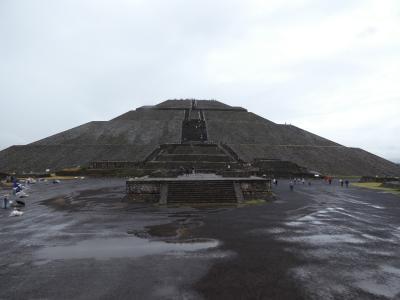 メキシコ テオティワカン 太陽のピラミッド(Piramide del Sol, Teotihuacan, Mexico)