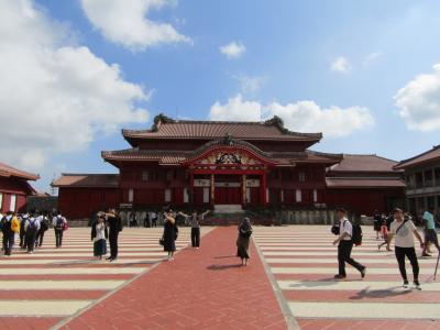 沖縄(第1段:焼失前の首里城)