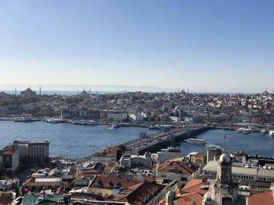 2019年10月 還暦夫婦トルコへ行く7 イスタンブール/ガラタ塔、ドルマバチェフ宮殿、ボスポラス海峡クルーズ