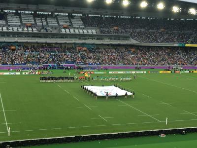 ラグビーワールドカップ アイルランドvsスコットランド戦