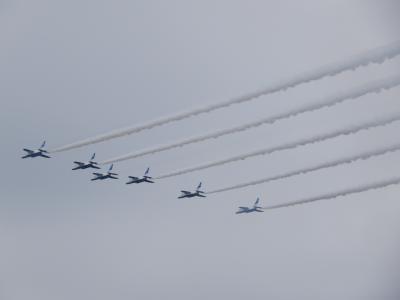 あのブルーインパルス見たくて入間航空祭へ