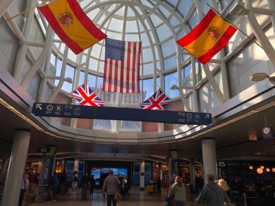 2019年8月-9月シカゴ&ミネアポリス12日間:シカゴ オヘア空港アメリカン航空ラウンジ、ミネアポリス到着編