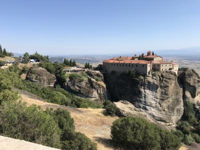 キプロスとギリシャ12日間の旅⑫ メテオラ修道院巡り1日目