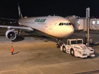 2019年11月台湾旅行1(エバー航空157便で桃園空港へ)