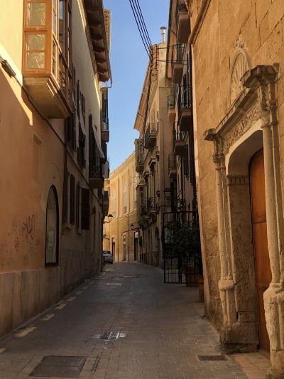 マヨルカ島の旅-1、パルマ・デ・マヨルカの旧市街を歩く