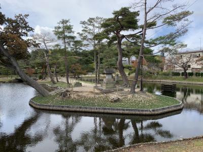 函館&新千歳&福島3空港経由して郡山(2)郡山の町歩きで公園巡りやスィーツなど