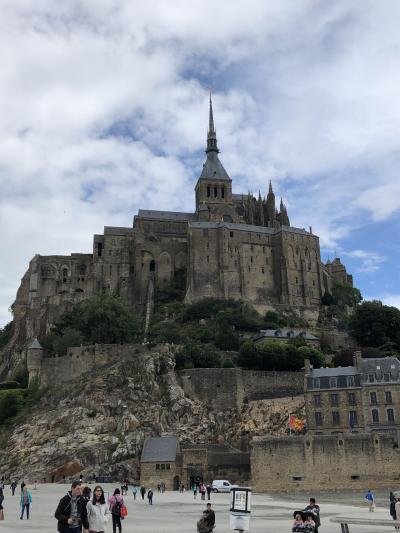 初めてのパリへ2回目の1人旅⑧ モンサンミッシェル前半