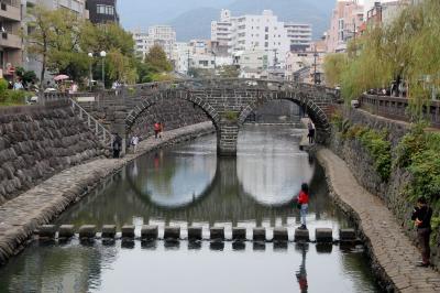 長崎 一泊二日ドライブ(途中船)旅行 / <1日目>出島・眼鏡橋