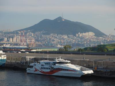 釜山港 -関釜フェリーの旅-