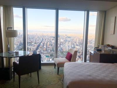 舞台を見に大阪へ 大阪マリオット都ホテルクラブフロア泊
