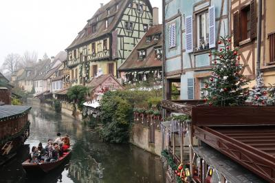 2019冬 母娘でドイツ・フランス クリスマスマーケット巡り ④コルマール