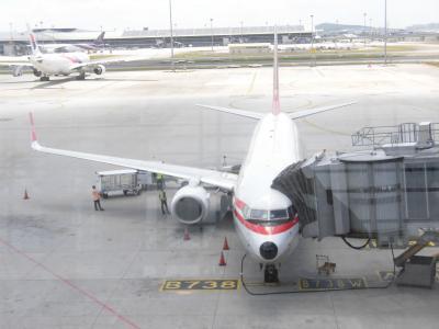 2019年2月マレーシア旅行② マレーシア航空614便エコノミークラス搭乗記 (MH614 SIN-KUL)