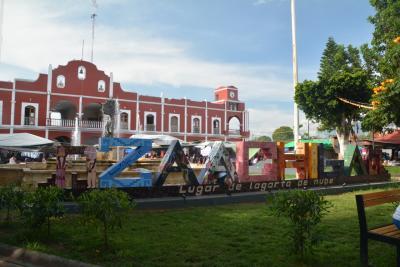 ビバ メヒコ オアハカからサアチーラへ行きました。
