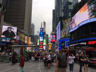 なんか変わった、ニューヨーク