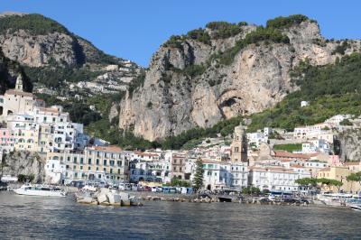 ナポリ&近郊+東シチリア島ドライブ+マルタ島ドライブ旅行 18日間【9】 5日目(4) アマルフィ&アトラーニ