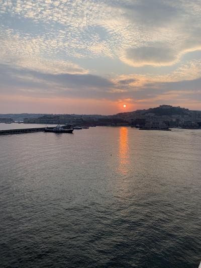 最後の寄港地はナポリです。