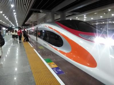 「香港&桂林5」香港の地下に中国が存在?高速鉄道に乗ったまま中国から香港へ☆中国の出国手続きは香港西九龍駅で行われる