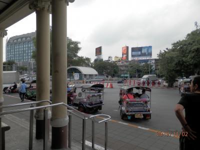 地下鉄MRTをあそぶ ファランボーン駅とバンスー駅