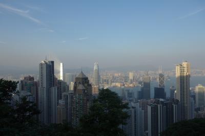民主化運動盛んな週末の香港4日間【初日は金曜日】JAL搭乗、JWマリオットホテル、ピークトラムなど